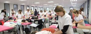 Salle de cours en osteopathie