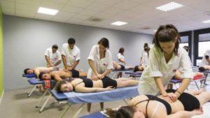 Salle de classe osteopathie